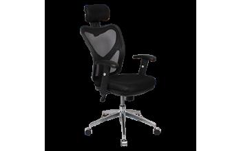 Офис стол Carmen 7016 - черен
