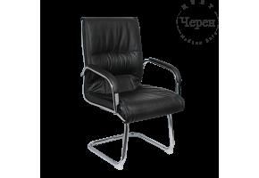 Посетителски стол Carmen 8014 - черен